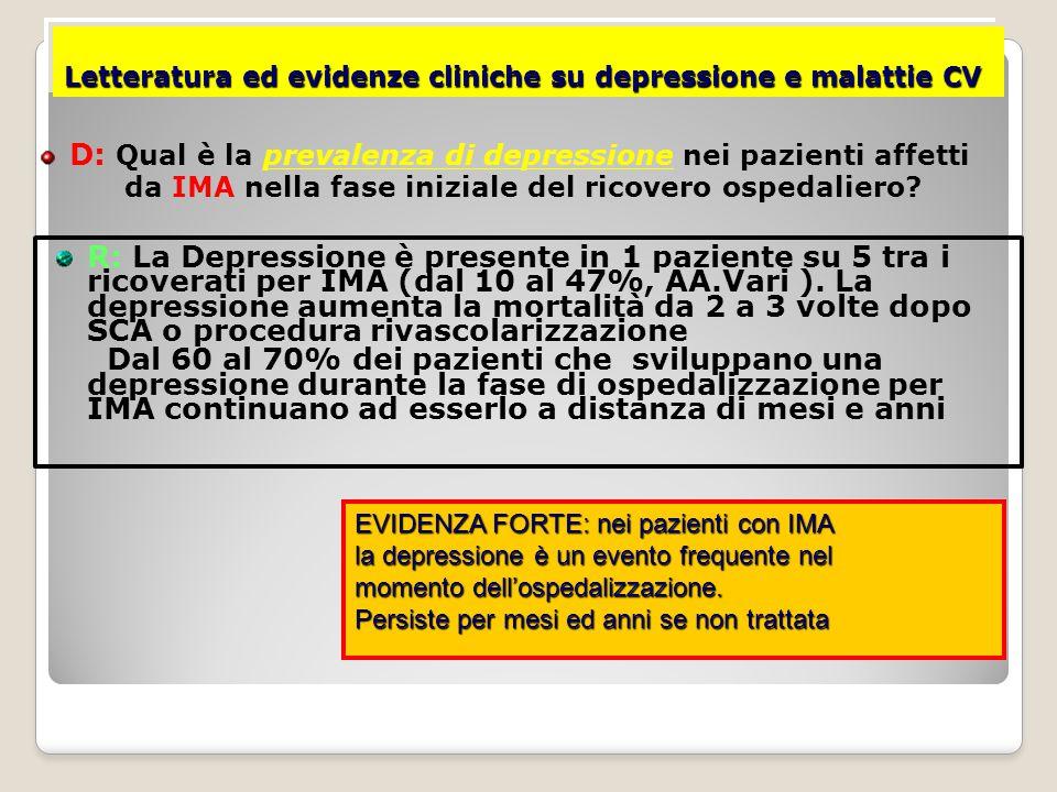 SCA e Stress: Instabilità Ventricolare E' noto che la presenza di Extrasistoli Ventricolari (PVC) sia un fattore prognostico negativo dopo IMA.