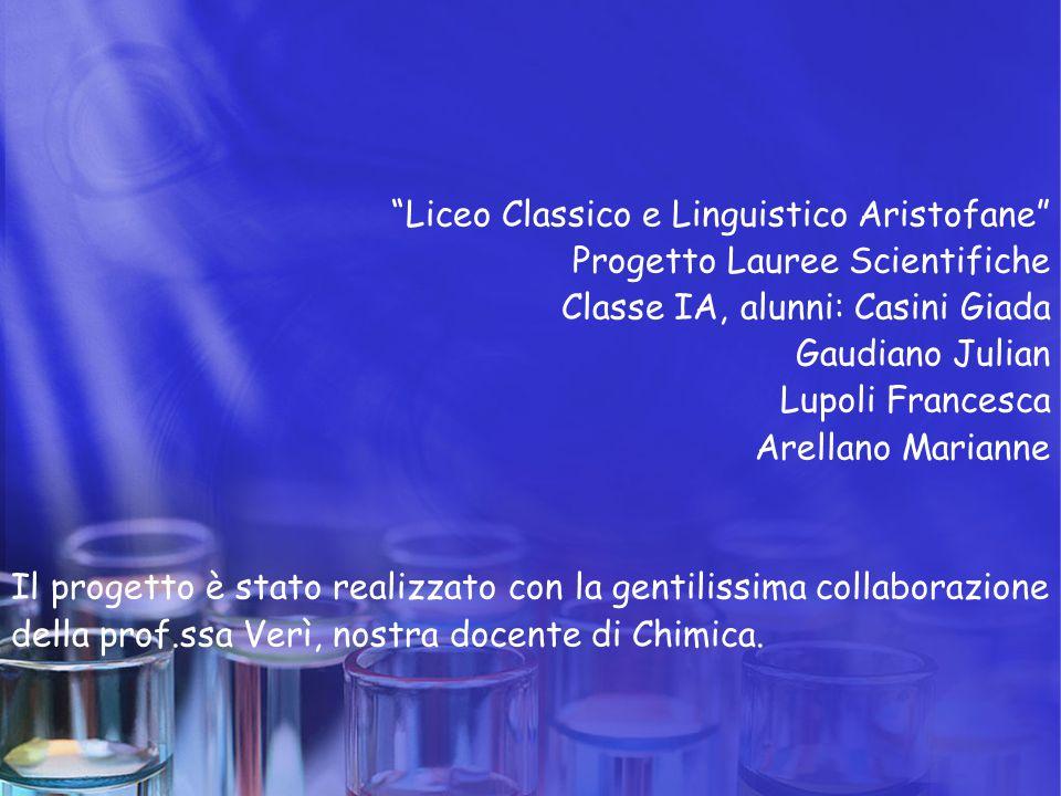 """""""Liceo Classico e Linguistico Aristofane"""" Progetto Lauree Scientifiche Classe IA, alunni: Casini Giada Gaudiano Julian Lupoli Francesca Arellano Maria"""