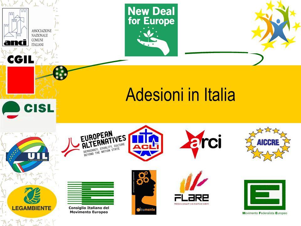 Adesioni in Italia