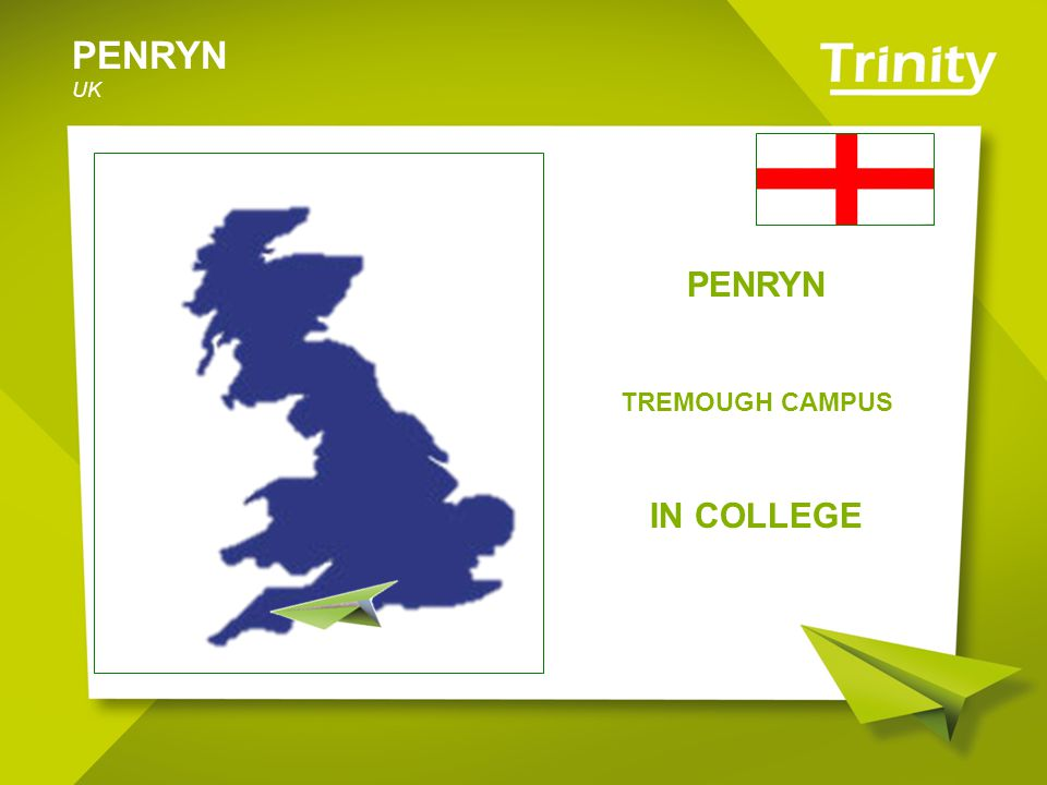 PENRYN UK – Il Campus La sistemazione è in camere singole con bagno privato