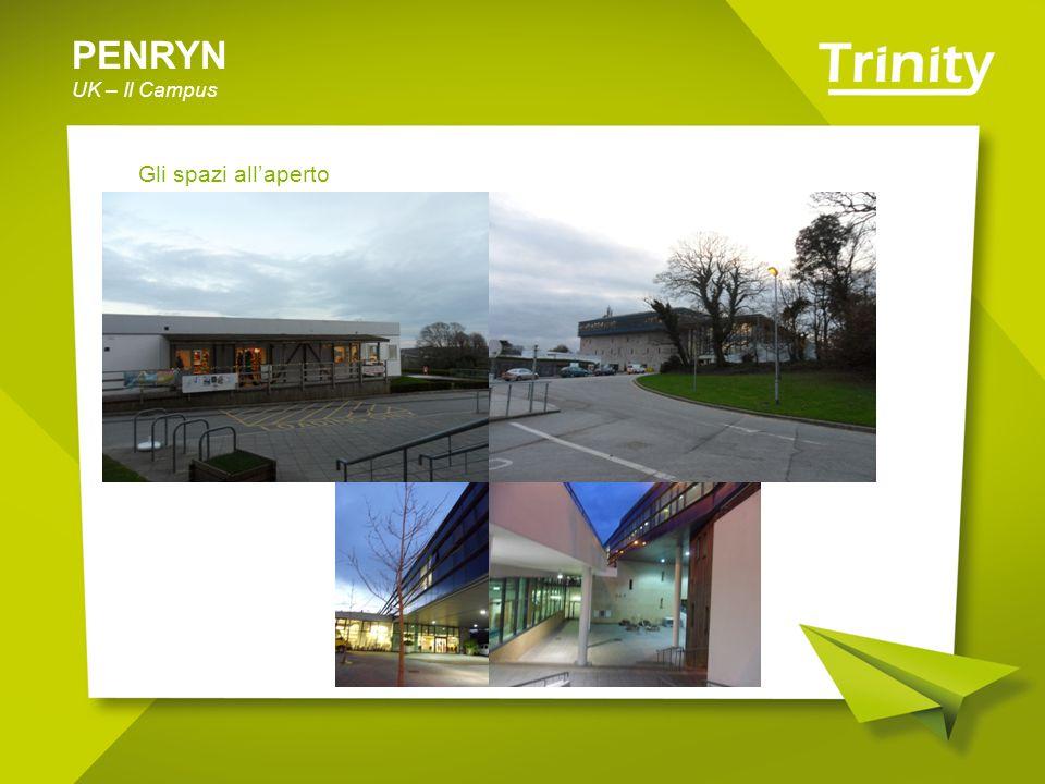 PENRYN UK – Il Campus Gli spazi all'aperto