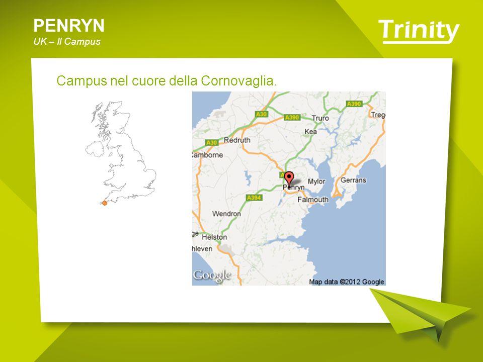 PENRYN UK – Il Campus Campus nel cuore della Cornovaglia.