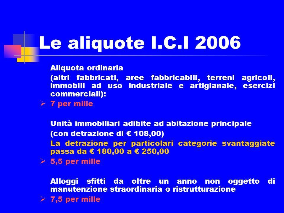 Quadro generale riassuntivo Bilancio 2006 - entrate