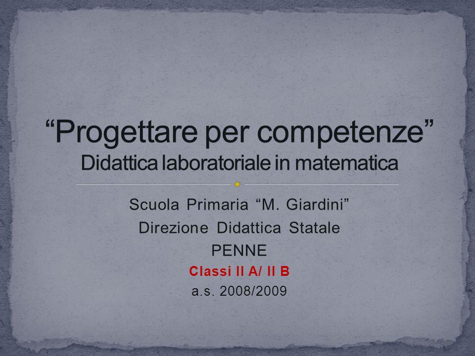 """Scuola Primaria """"M. Giardini"""" Direzione Didattica Statale PENNE Classi II A/ II B a.s. 2008/2009"""