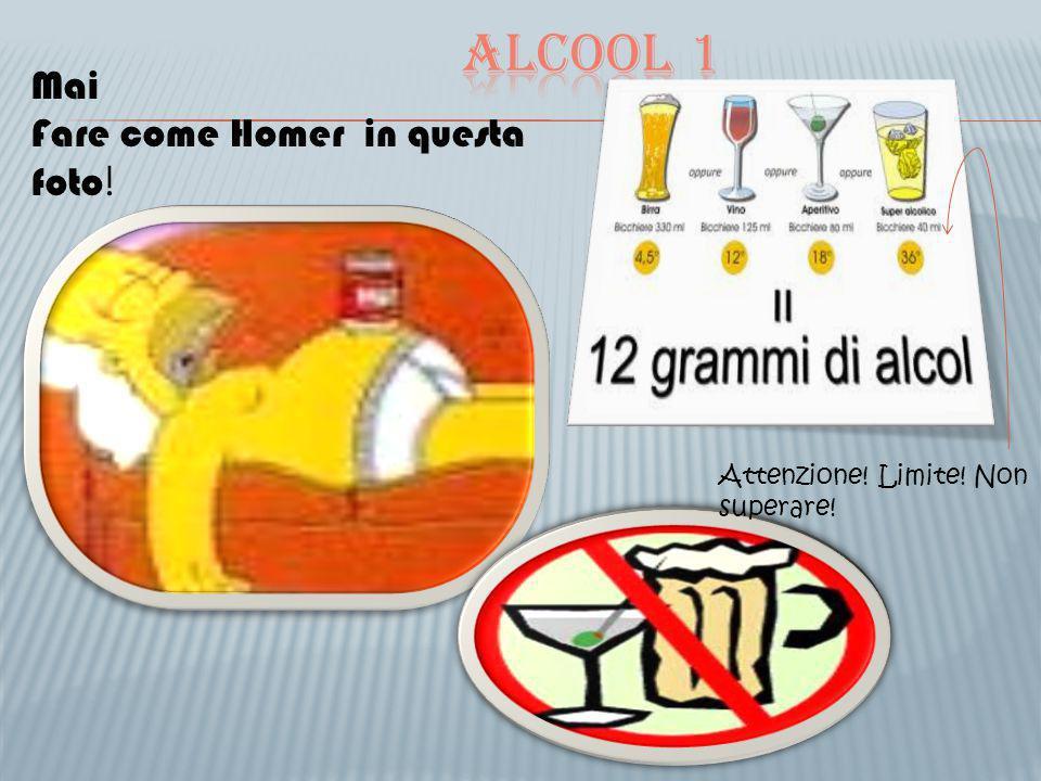 Mai Fare come Homer in questa foto ! Attenzione! Limite! Non superare!