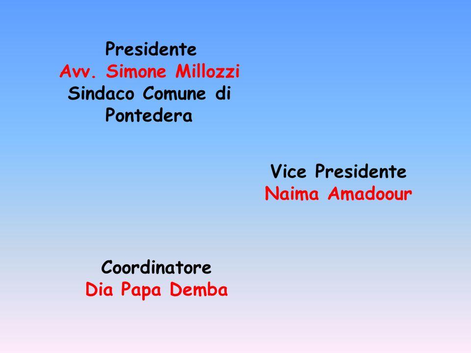 Coordinatore Dia Papa Demba Presidente Avv.