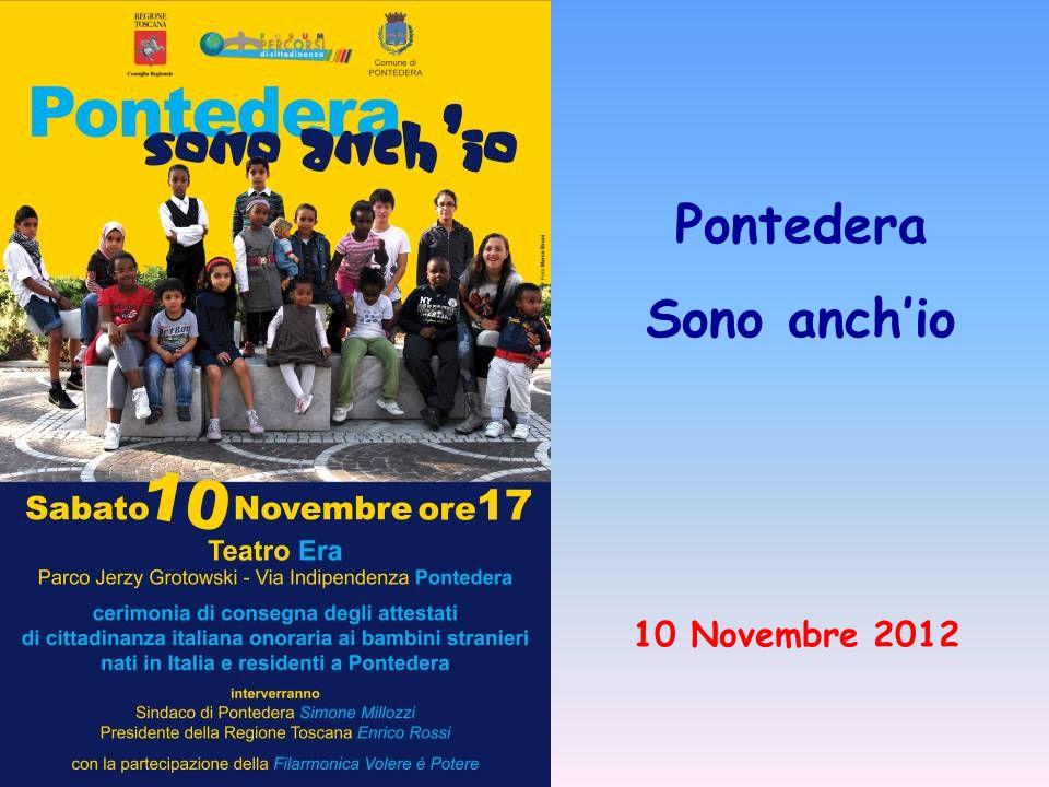 Pontedera Sono anch'io 10 Novembre 2012