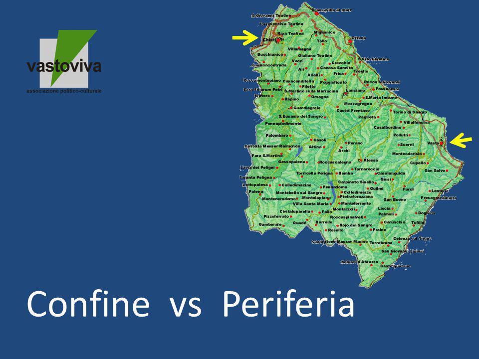 Confine vs Periferia