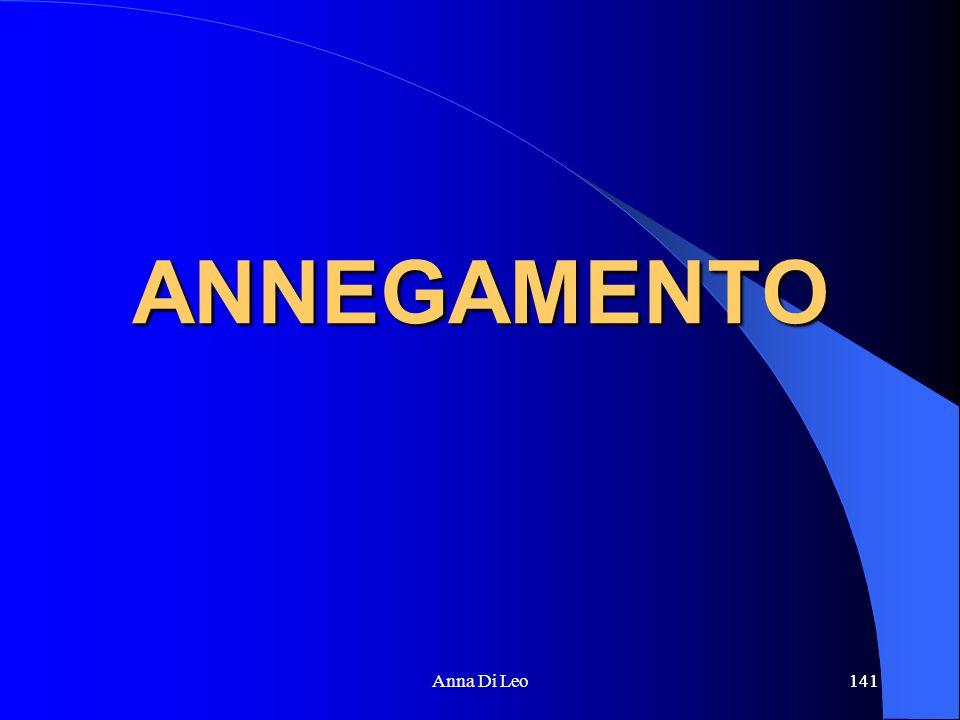 141Anna Di Leo141 ANNEGAMENTO
