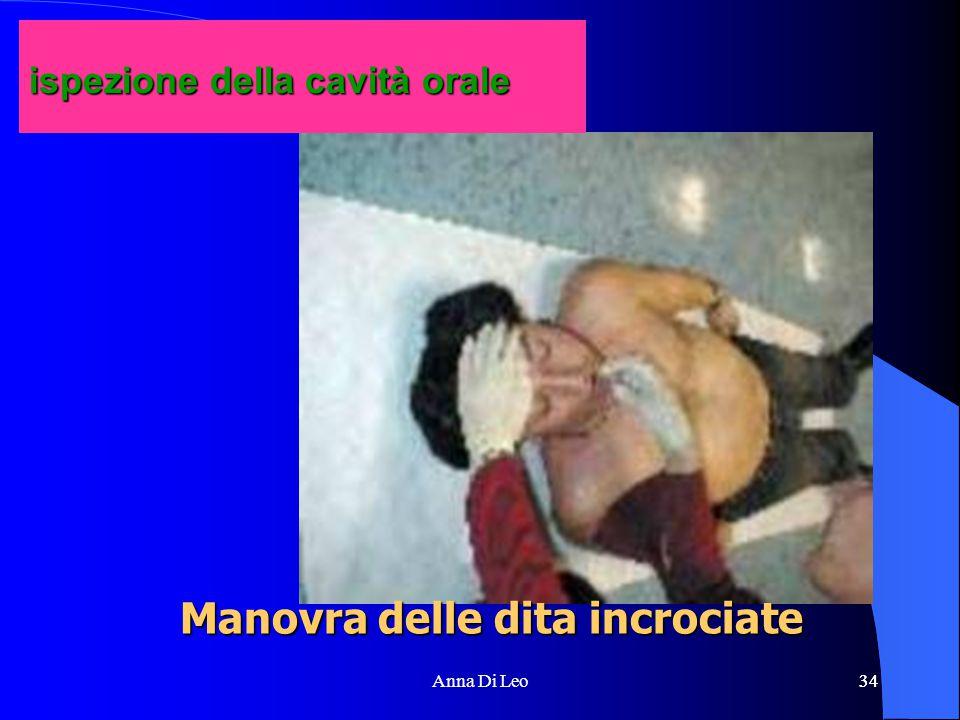 34Anna Di Leo34 Manovra delle dita incrociate ispezione della cavità orale