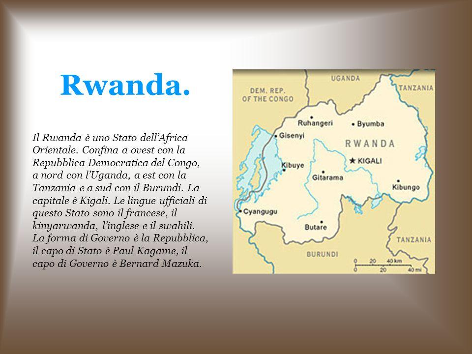 Rwanda.Il Rwanda è uno Stato dell'Africa Orientale.