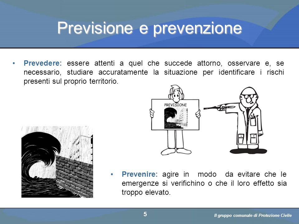 Il volontario: diritti, doveri, responsabiità a cura di D. Bellè Laboratorio e-Learning (LabeL) Università di Udine 5 Previsione e prevenzione Prevede