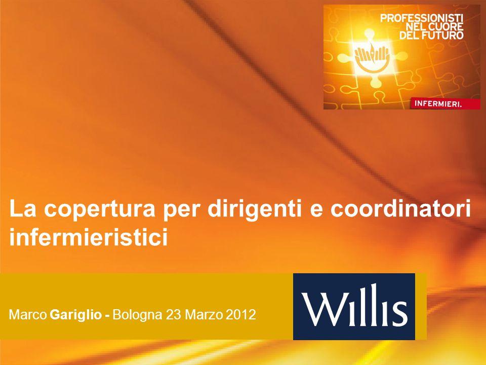 La copertura per dirigenti e coordinatori infermieristici Marco Gariglio - Bologna 23 Marzo 2012