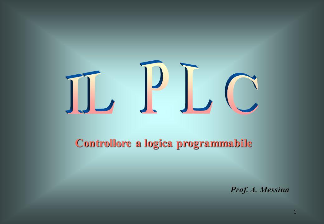 1 Prof. A. Messina Controllore a logica programmabile