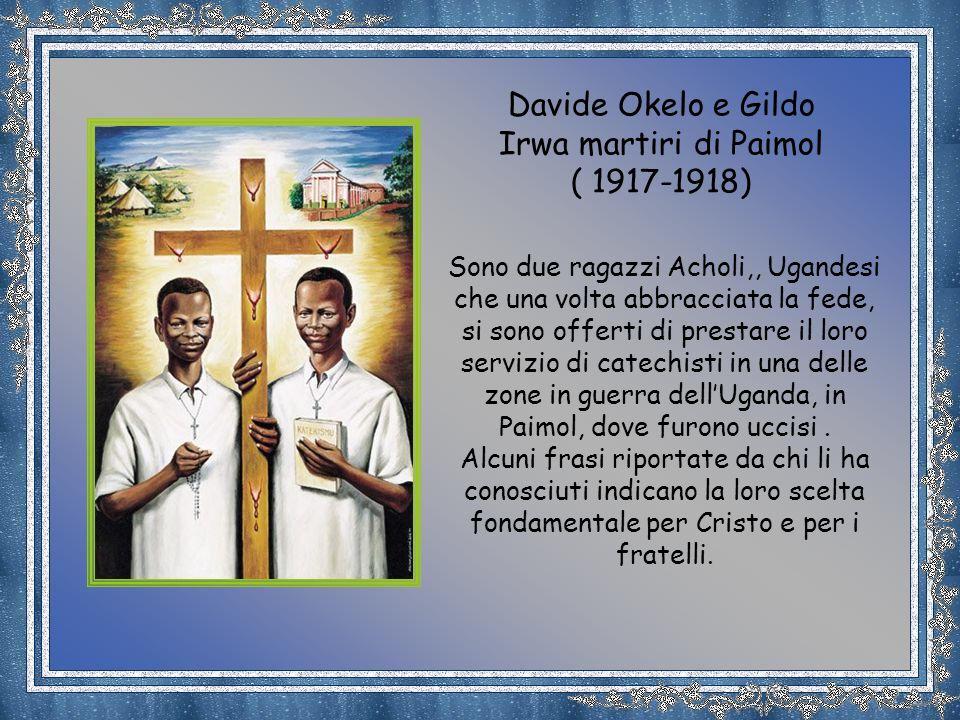 L´albo dei martiri ugandesi non si è chiuso con la canonizzazione dei 22 giovanetti martirizzati a Namugongo/Kampala nel 1886 nelle missioni aperte da