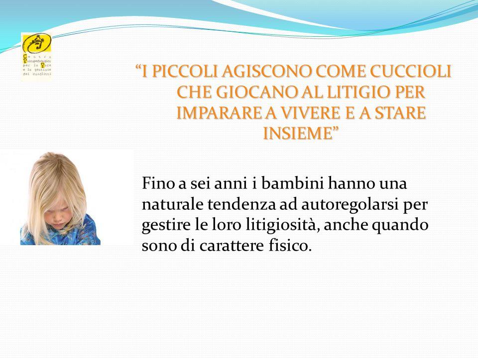 LE PAROLE SERVONO A LITIGARE SENZA FARSI MALE (un bambino di Reggio Emilia)