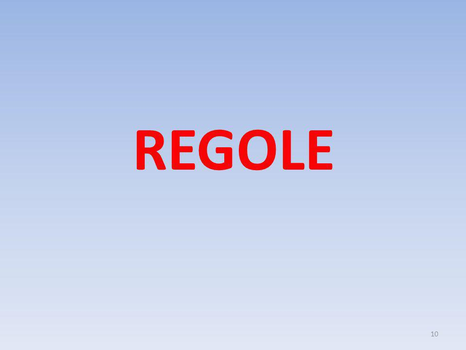 REGOLE 10