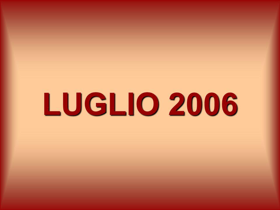 LUGLIO 2006