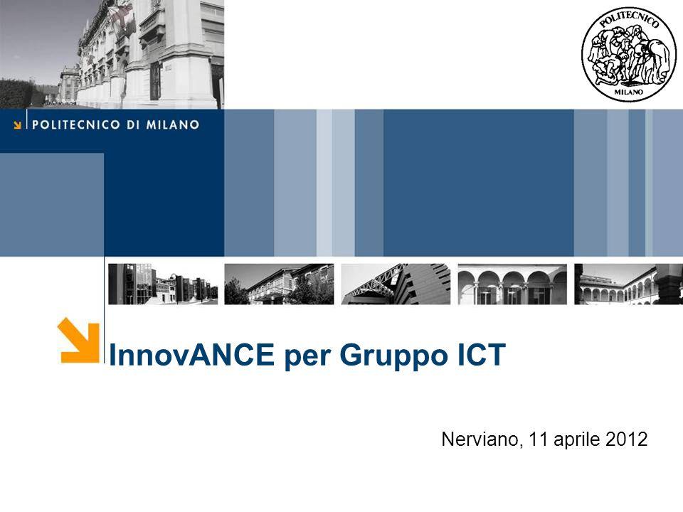 InnovANCE per Gruppo ICT Nerviano, 11 aprile 2012