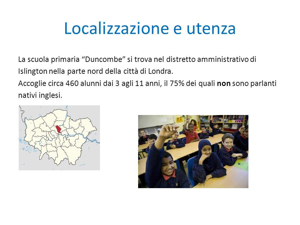 Localizzazione e utenza La scuola primaria Duncombe si trova nel distretto amministrativo di Islington nella parte nord della città di Londra.