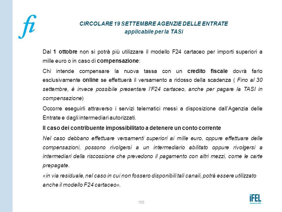 Dal 1 ottobre non si potrà più utilizzare il modello F24 cartaceo per importi superiori a mille euro o in caso di compensazione: Chi intende compensar