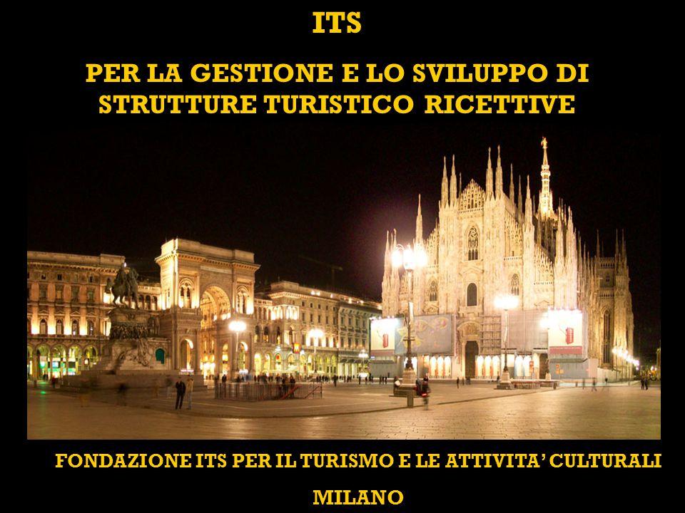 FONDAZIONE ITS PER IL TURISMO E LE ATTIVITA' CULTURALI MILANO ITS PER LA GESTIONE E LO SVILUPPO DI STRUTTURE TURISTICO RICETTIVE