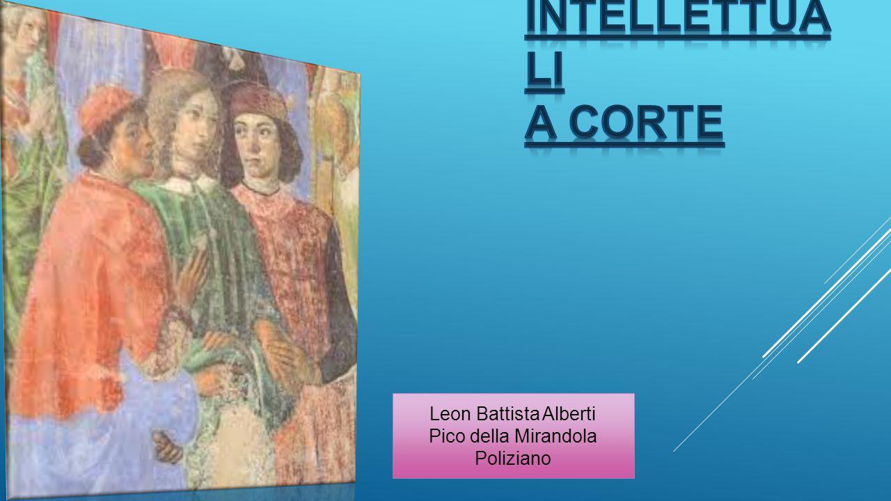 Leon Battista Alberti Pico della Mirandola Poliziano