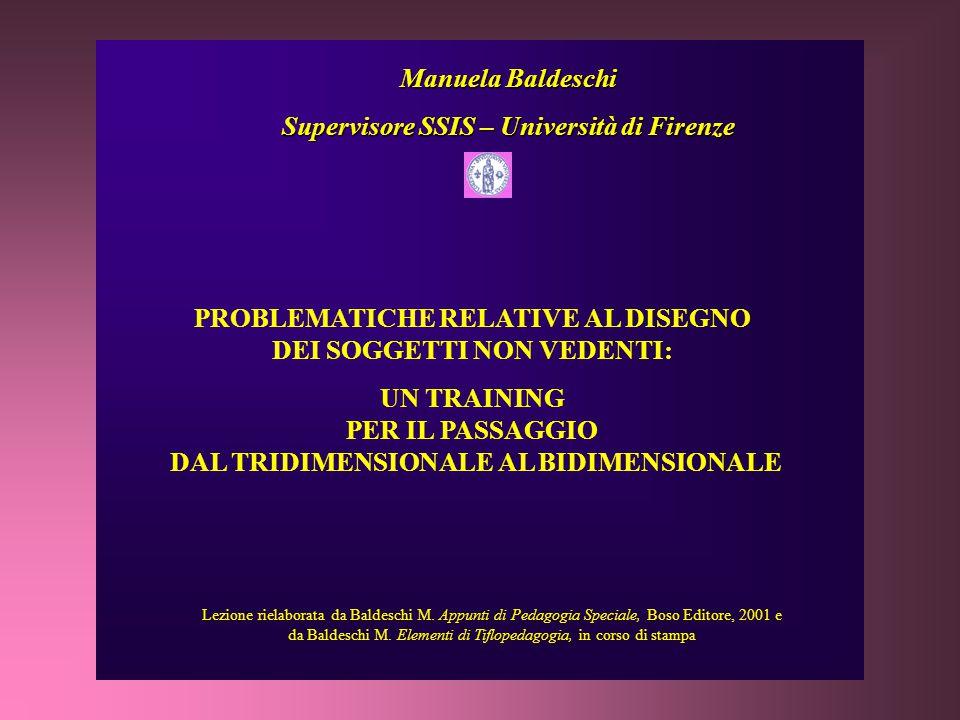 Lezione rielaborata da Baldeschi M.