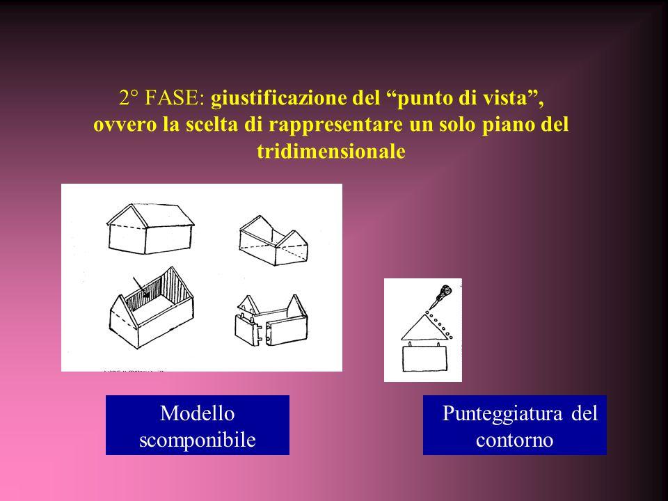 """Training 1° FASE: dimostrazione dell'appiattimento del tridimensionale su un piano, Giustificazione/interiorizazione dello stereotipo """"albero"""" 1° Osse"""