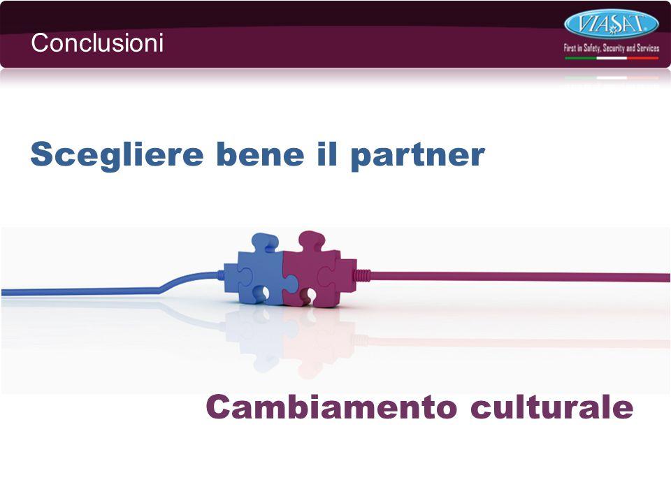 Scegliere bene il partner Cambiamento culturale Conclusioni