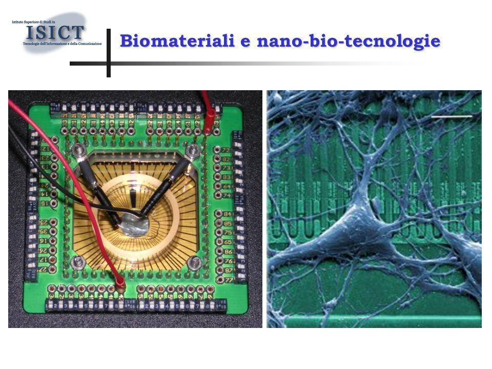 Biomateriali e nano-bio-tecnologie