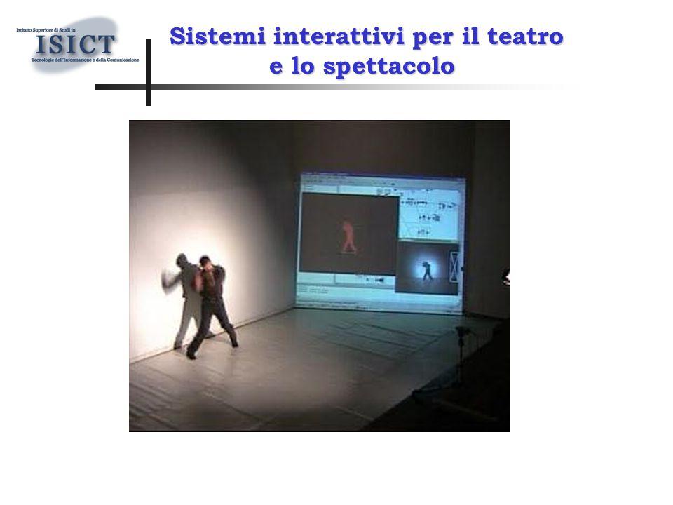 Sistemi interattivi per il teatro e lo spettacolo