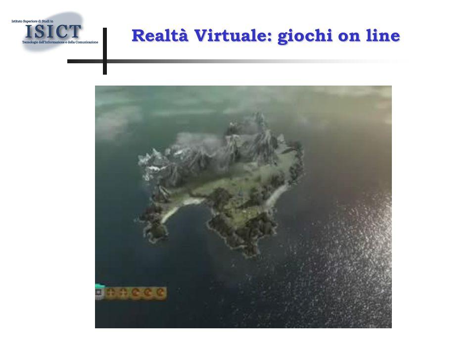 Realtà Virtuale: giochi on line