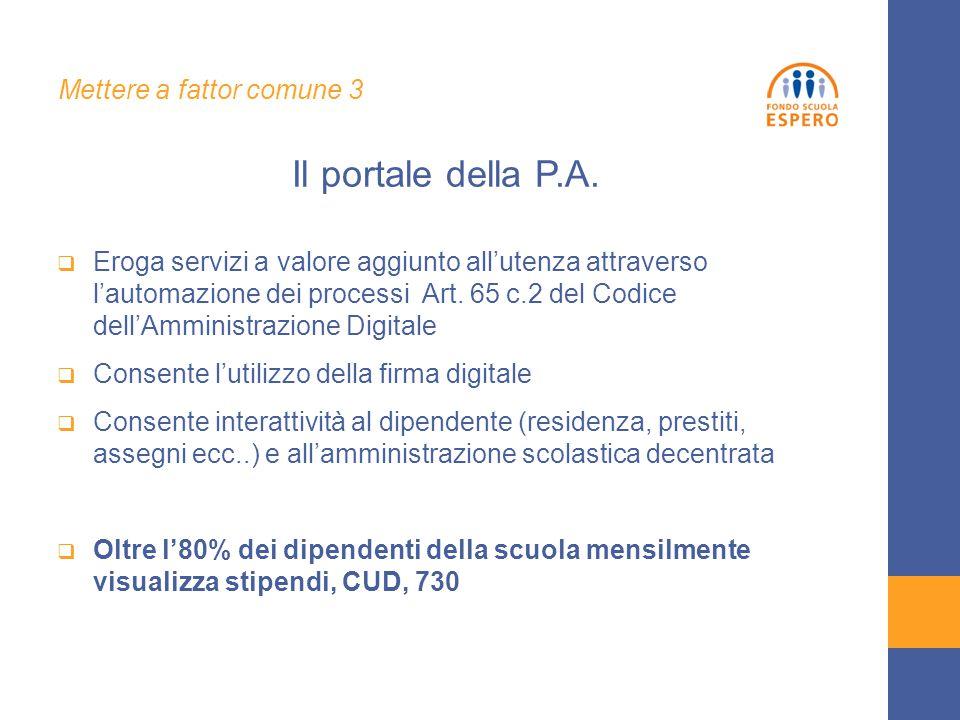  Eroga servizi a valore aggiunto all'utenza attraverso l'automazione dei processi Art. 65 c.2 del Codice dell'Amministrazione Digitale  Consente l'u