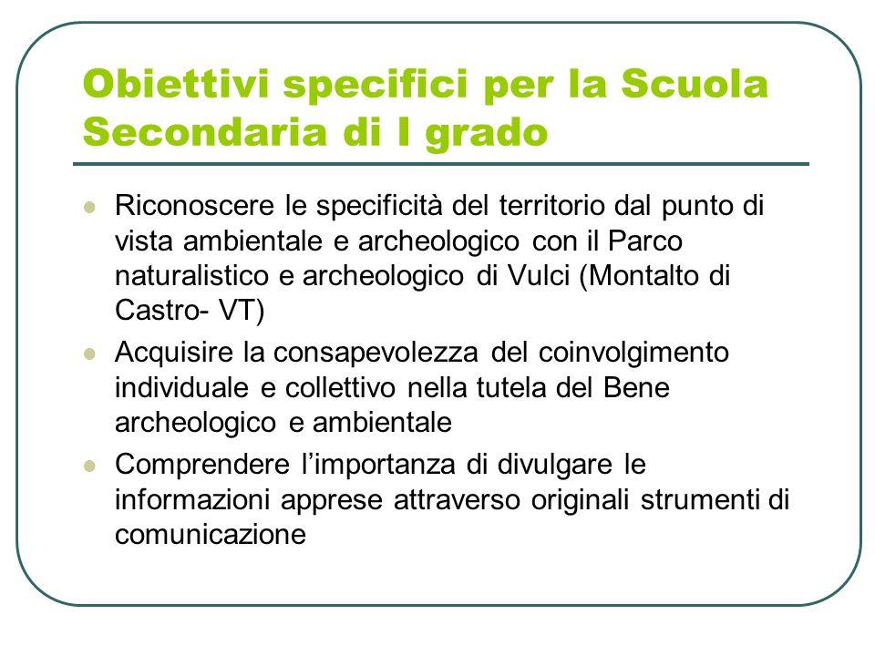 7 Attività 1 Scuola dell'Infanzia e Scuola Primaria (classi I, II e III) Laboratori ludo-didattici Escursioni sensoriali con esperti naturalisti e di associazioni ambientaliste nei parchi di Roma