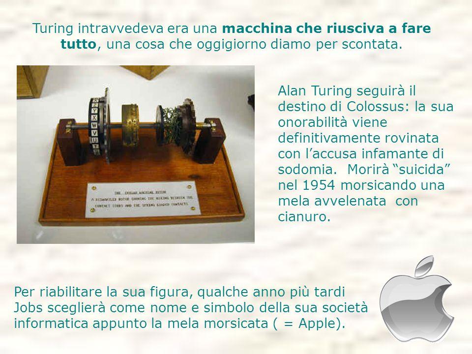 Turing intravvedeva era una macchina che riusciva a fare tutto, una cosa che oggigiorno diamo per scontata. Per riabilitare la sua figura, qualche ann
