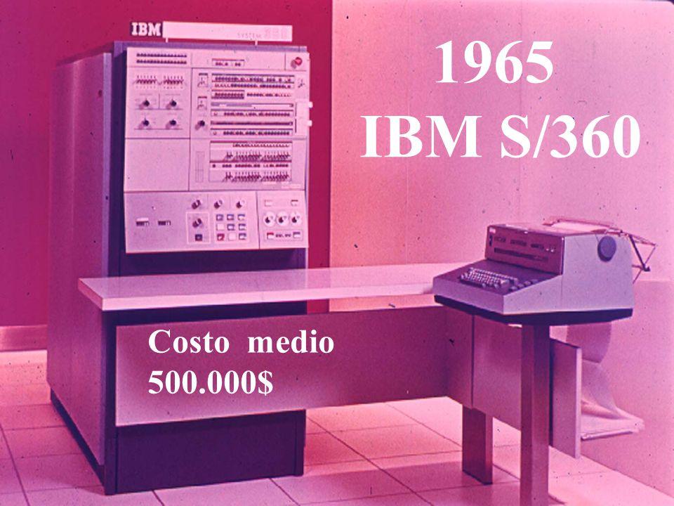1965 IBM S/360 Costo medio 500.000$