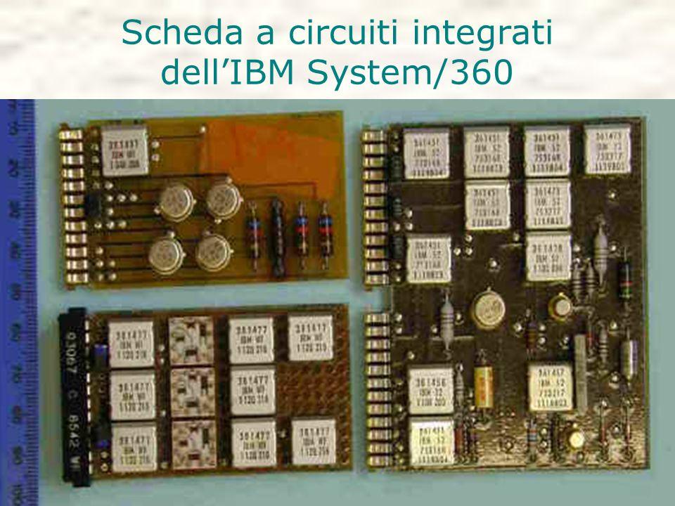 Scheda a circuiti integrati dell'IBM System/360