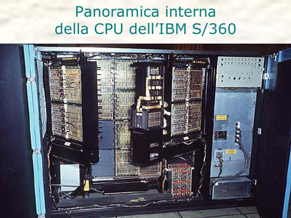 Panoramica interna della CPU dell'IBM S/360