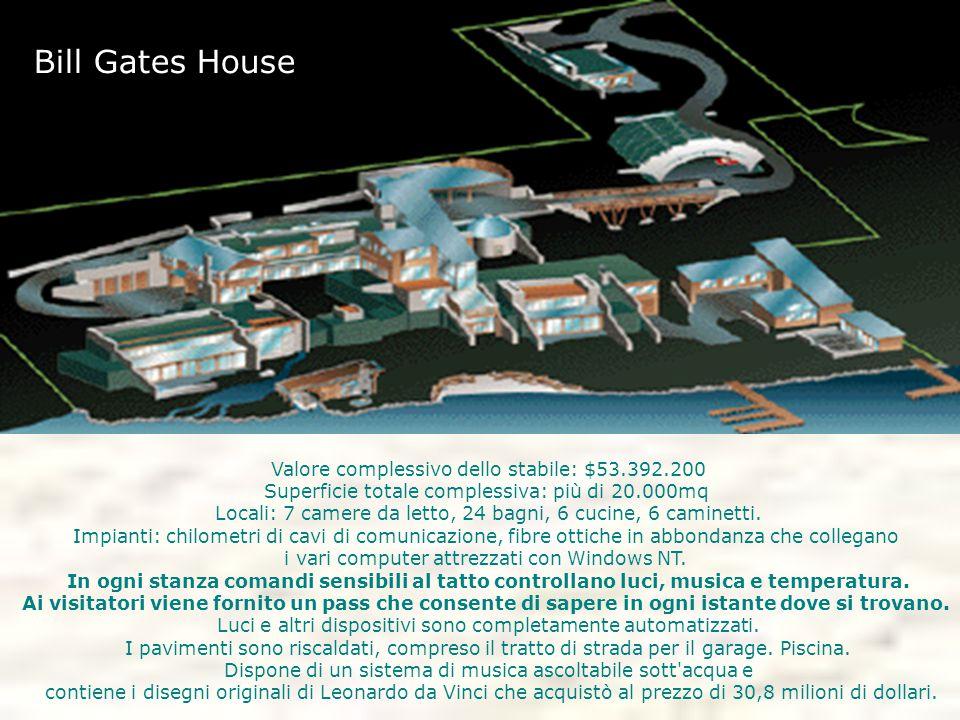 Valore complessivo dello stabile: $53.392.200 Superficie totale complessiva: più di 20.000mq Locali: 7 camere da letto, 24 bagni, 6 cucine, 6 caminett