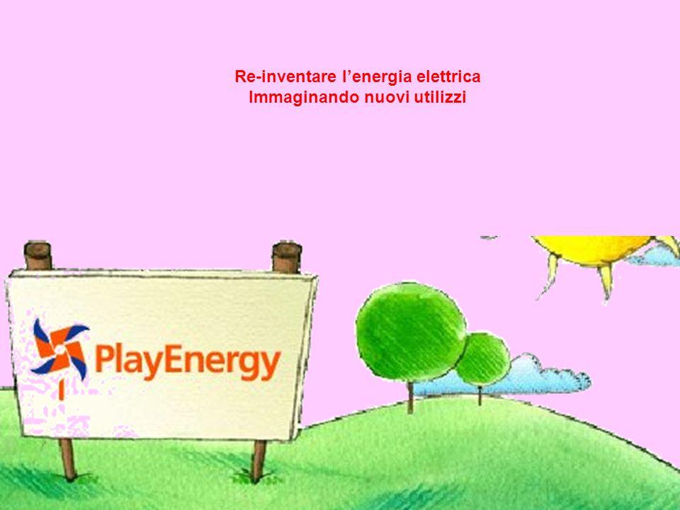 Re-inventare l'energia elettrica Immaginando nuovi utilizzi