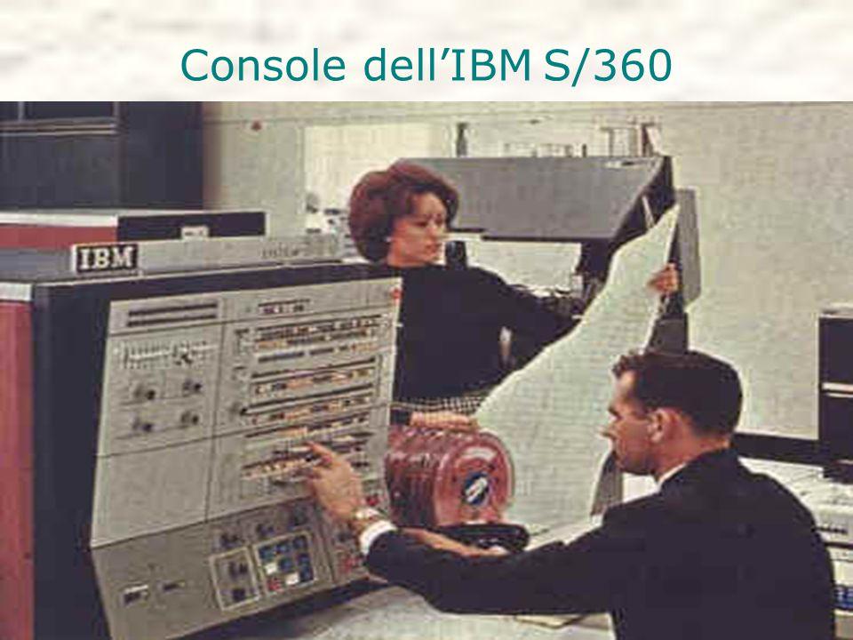 Console dell'IBM S/360
