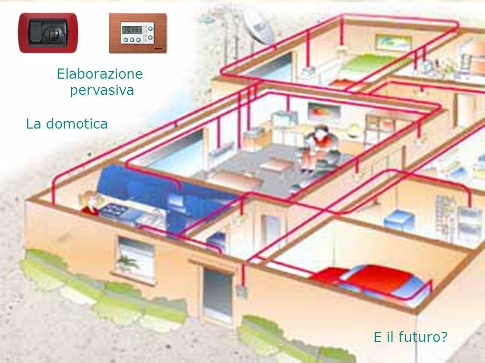 La domotica E il futuro Elaborazione pervasiva