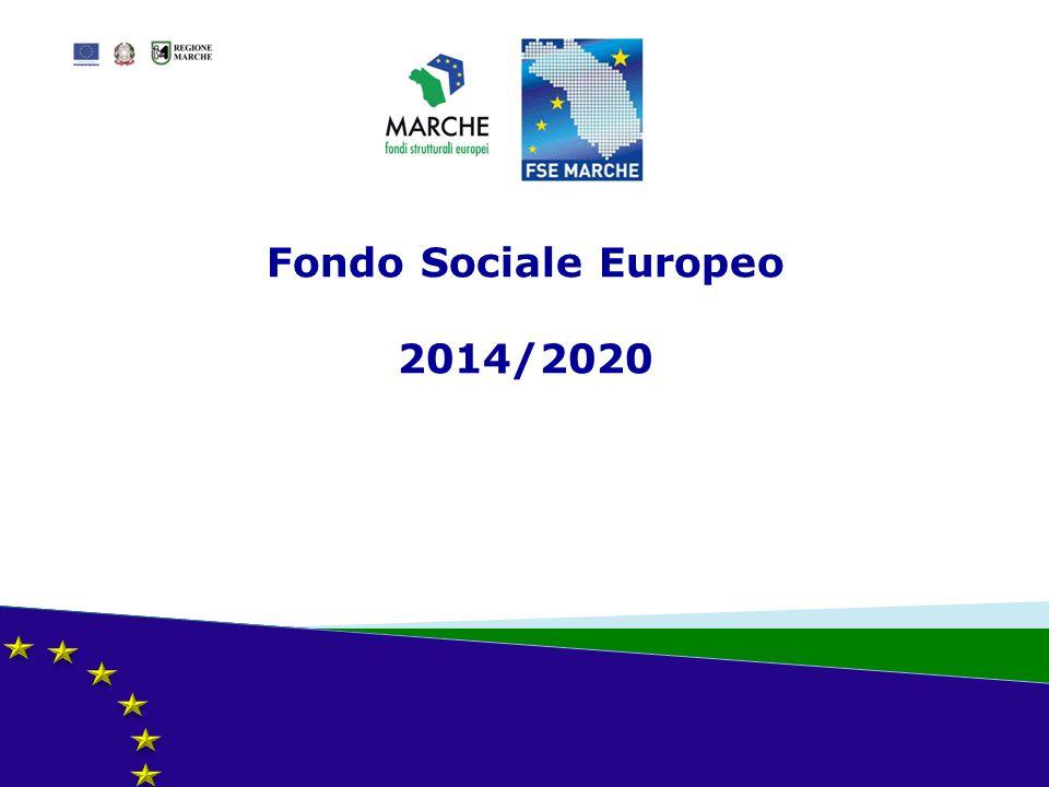 Fondo Sociale Europeo 2014/2020