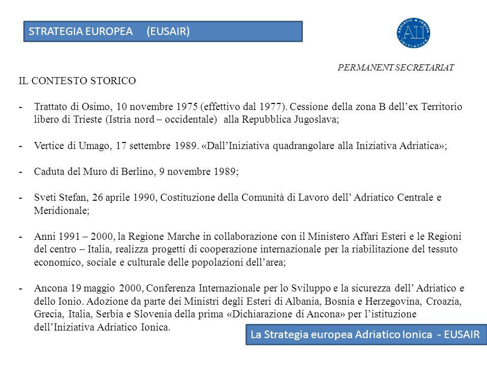 IL CONTESTO STORICO -Trattato di Osimo, 10 novembre 1975 (effettivo dal 1977). Cessione della zona B dell'ex Territorio libero di Trieste (Istria nord
