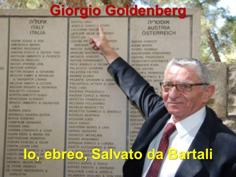 Giorgio Goldenberg Io, ebreo, Salvato da Bartali