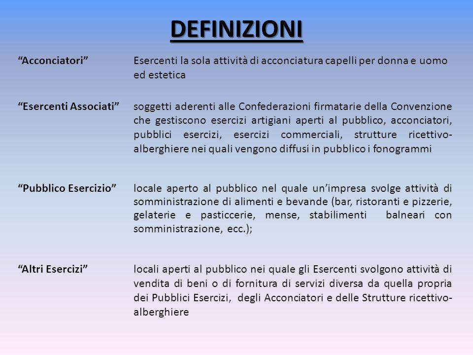 DEFINIZIONI Fonogramma qualunque Fissazione di suoni di una esecuzione o di altri suoni o di una rappresentazione di suoni, che non sia una fissazione incorporata in un'opera cinematografica, pubblicata dai produttori fonografici Mandanti e regolarmente da essi posta in commercio in Italia.