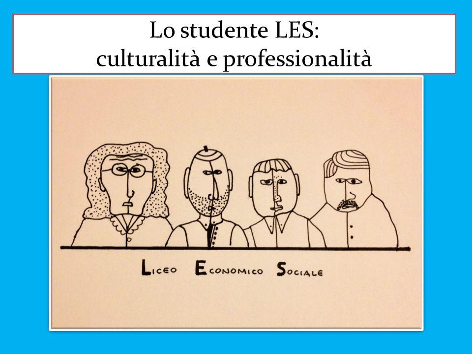Lo studente LES: culturalità e professionalità