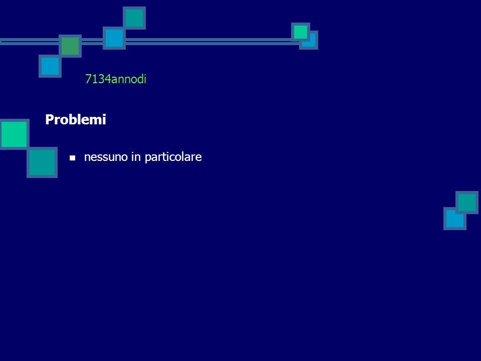 7134annodi Problemi nessuno in particolare