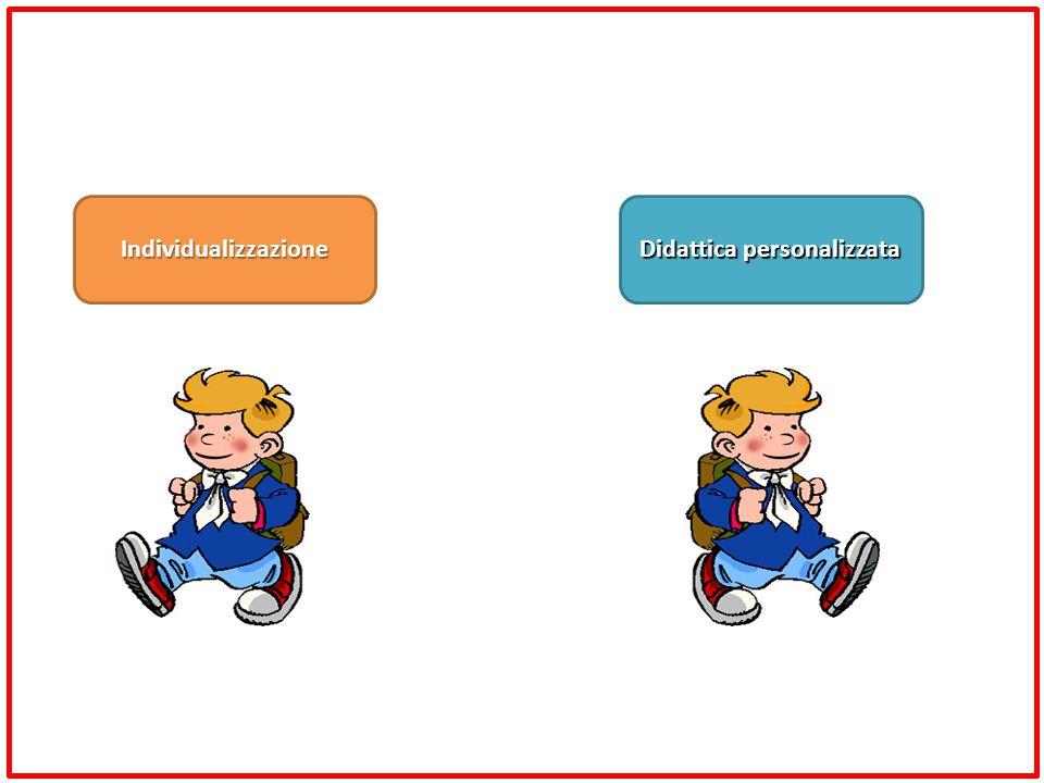 Didattica personalizzata Individualizzazione